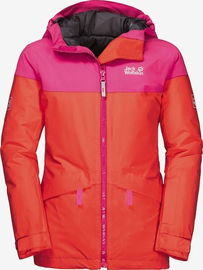JACK WOLFSKIN Jacke 'POWDER MOUNTAIN' in koralle / pink, Produktansicht