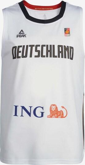 PEAK Basketball Trikot 'Deutschland' in weiß, Produktansicht