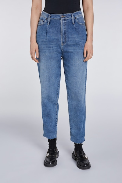 SET Jeans in blue denim, Modelansicht