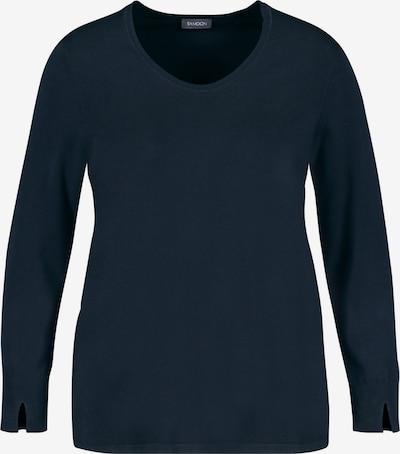 SAMOON Pullover in dunkelblau, Produktansicht