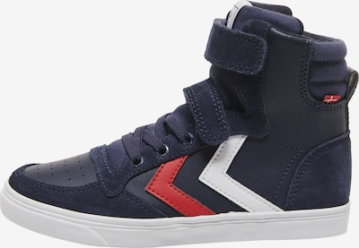 Hummel Sneaker 'Slimmer Stadil' in nachtblau / rot / weiß, Produktansicht