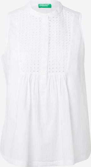 UNITED COLORS OF BENETTON Blusa en blanco, Vista del producto