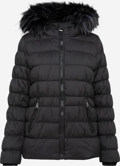 Soccx Winterjacke mit Windbreaker-Bündchen und Fake Fur in schwarz, Produktansicht