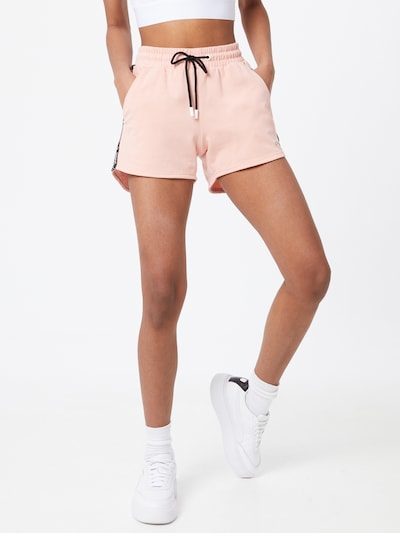 FILA Sports trousers 'JADIANA' in Peach / Black: Frontal view