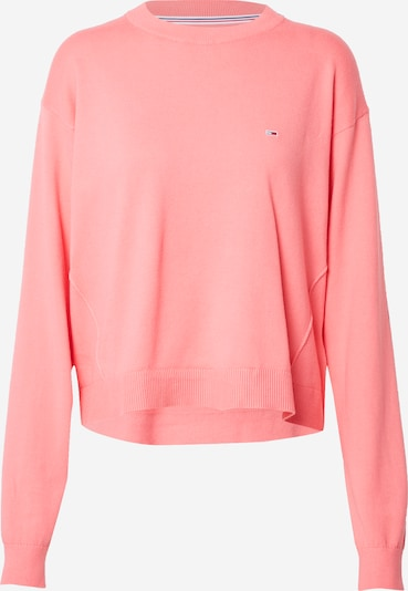 Tommy Jeans Pullover in rosa, Produktansicht