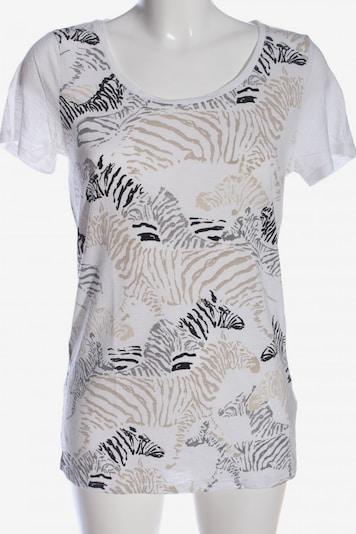 Fransa T-Shirt in S in nude / schwarz / weiß, Produktansicht