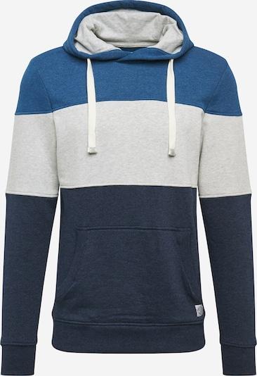 kék / sötétkék / világosszürke TOM TAILOR Tréning póló, Termék nézet