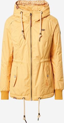 Parka mi-saison 'DANKA' Ragwear en jaune