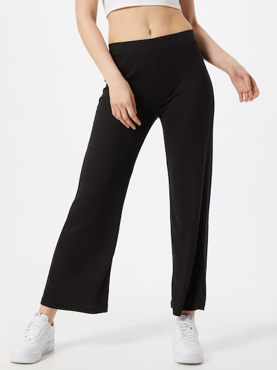 PIECES Trousers in Black, View model
