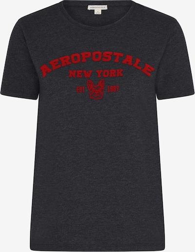 AÈROPOSTALE Majica u antracit siva / crvena, Pregled proizvoda