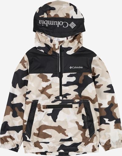 COLUMBIA Outdoor jakna 'Bloomingport' u nude / tamno smeđa / crna / bijela, Pregled proizvoda