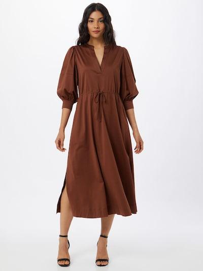 Riani Kleid in hellbraun, Modelansicht