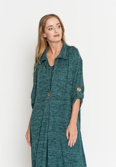 Madam-T Kleid 'Gilberta' in grün, Modelansicht