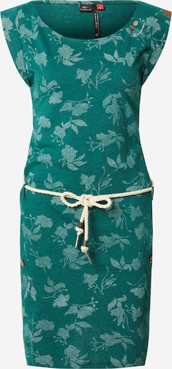 Ragwear Ljetna haljina 'TAG ROSE' u tamno zelena / bijela, Pregled proizvoda