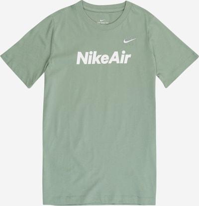 Nike Sportswear T-Krekls piparmētru / balts, Preces skats
