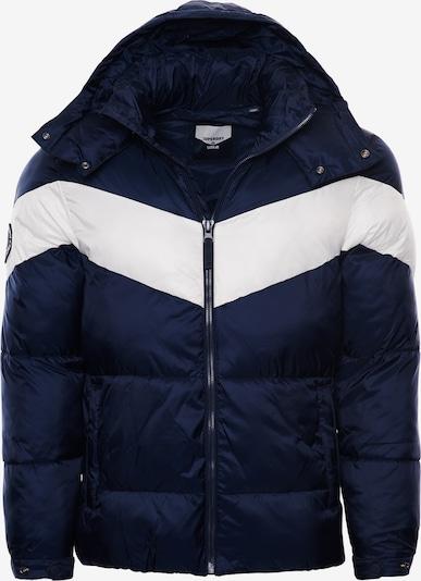 Superdry Winterjas 'Stratus' in de kleur Navy / Wit, Productweergave