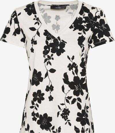 HALLHUBER T-Shirt in schwarz / weiß, Produktansicht