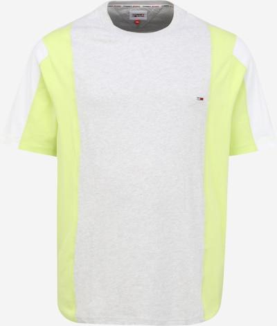 Tommy Jeans Plus T-Shirt en bleu marine / gris clair / kiwi / rouge clair / blanc, Vue avec produit