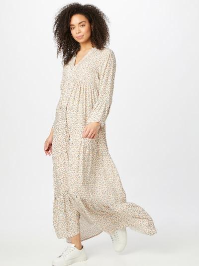 JDY Kleid 'TRAVIS' in pastellgelb / mint / rosa / weiß, Modelansicht
