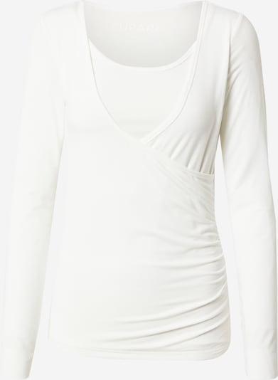CURARE Yogawear Shirt 'Flow' in weiß, Produktansicht