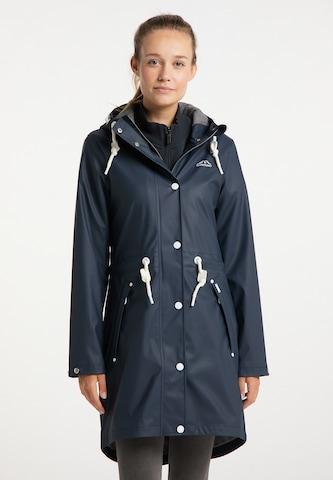 ICEBOUND Between-Seasons Coat in Blue