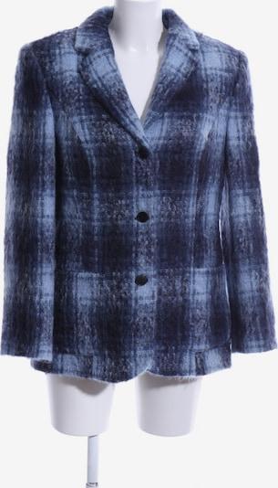 GIL BRET Woll-Blazer in XL in blau / schwarz, Produktansicht
