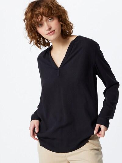 ESPRIT Blusa 'Core' en negro, Vista del modelo