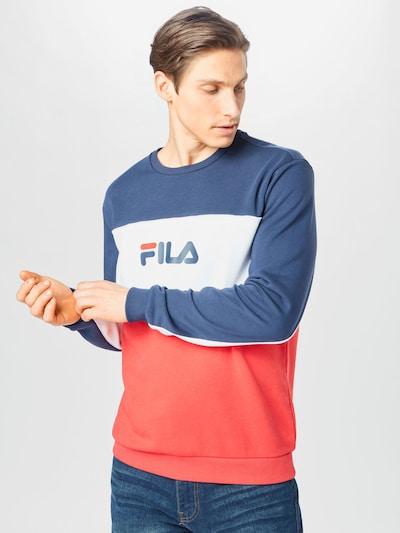 FILA Блузон с качулка 'AQIL' в синьо / червено / бяло: Изглед отпред