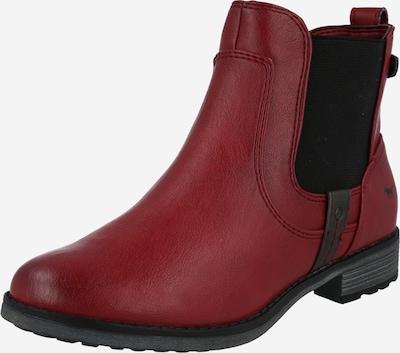 MUSTANG Chelsea čižmy - rubínová / čierna, Produkt