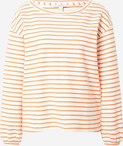 ESPRIT Pullover 'FLOW COO' in orange / weiß, Produktansicht