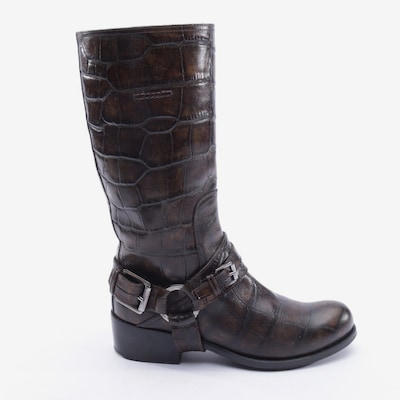 Dior Dress Boots in 37 in Brown, Item view
