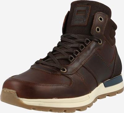 BULLBOXER Sneaker in dunkelbraun, Produktansicht