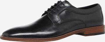 Dune LONDON Обувки с връзки 'SPARROWS' в черно
