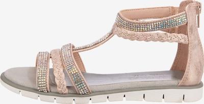 INDIGO Sandale in beige, Produktansicht