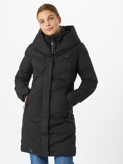 Žieminis paltas 'NATALKA' iš Ragwear , spalva - juoda, Modelio vaizdas
