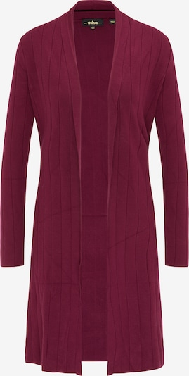 usha BLACK LABEL Cardigan in bordeaux, Produktansicht