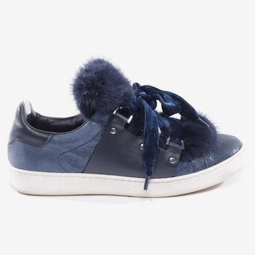 MONCLER Flats & Loafers in 38 in Blue