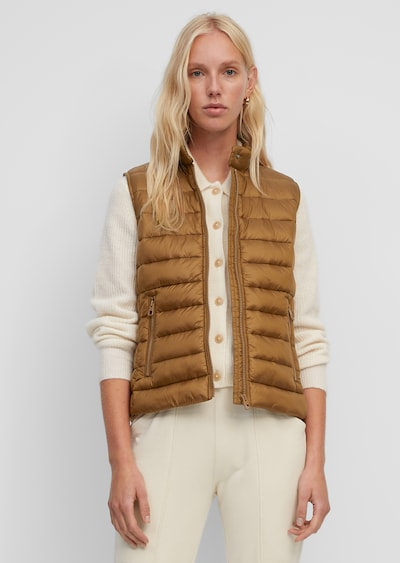 Marc O'Polo Vest in Brown, View model