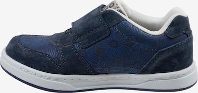 Pio Sneaker 'BLUMEN' in blau: Frontalansicht