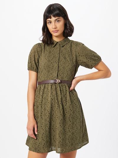 Palaidinės tipo suknelė iš VERO MODA , spalva - rusvai žalia, Modelio vaizdas
