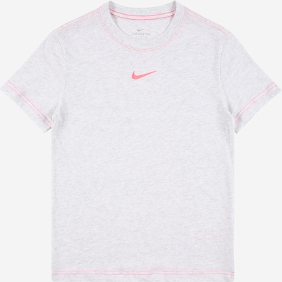 Nike Sportswear Shirt in hellgrau / pink, Produktansicht