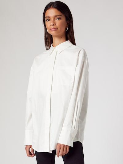ABOUT YOU x MOGLI Bluza 'Stella' u bijela, Prikaz modela