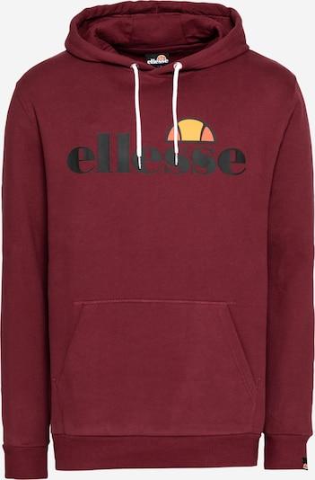 ELLESSE Sweatshirt 'Gottero' in de kleur Geel / Perzik / Bourgogne / Zwart, Productweergave