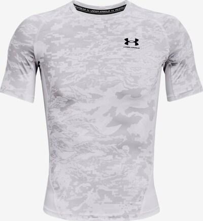 UNDER ARMOUR Shirt in hellgrau / weiß, Produktansicht
