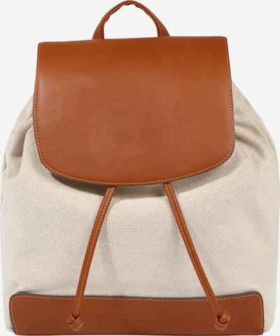 TOM TAILOR Batoh 'Ines' - béžová / koňaková, Produkt