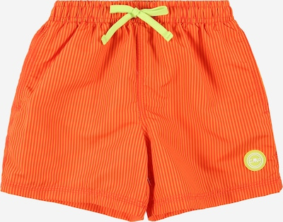 Modă de plajă sport CMP pe verde limetă / portocaliu mandarină / portocaliu deschis, Vizualizare produs