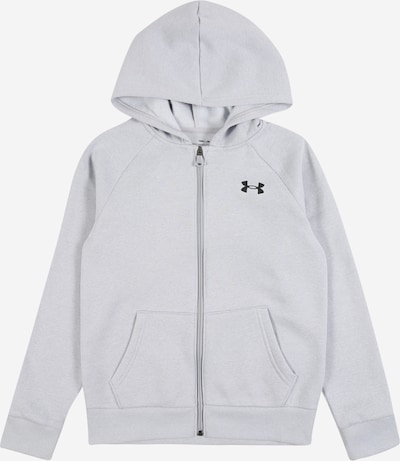 UNDER ARMOUR Sportsweatjacke in grau / schwarz, Produktansicht
