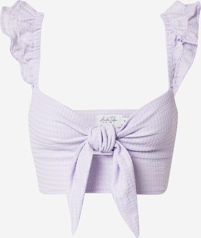 Top 'Anika Teller' NA-KD pe lila, Vizualizare produs