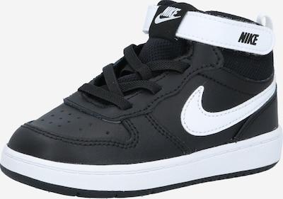 Nike Sportswear Sneaker 'Court Borough 2' in schwarz / weiß, Produktansicht