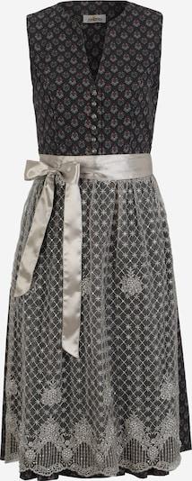 ALMSACH Dirndl en gris / rouge / noir, Vue avec produit